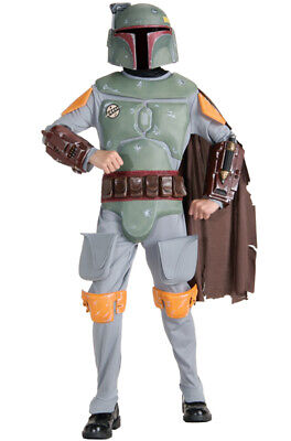 Boba Fett Deluxe Child Costume (Brand New Star Wars Deluxe Boba Fett Child)