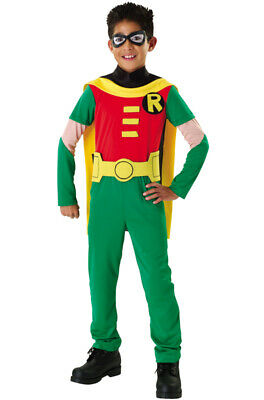 Brand New Teen Titans Superhero Robin Child - Teenage Superhero Costumes
