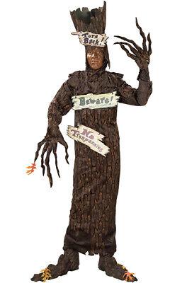 Tree Man Costume (Halloween Funny Haunted Tree Adult)