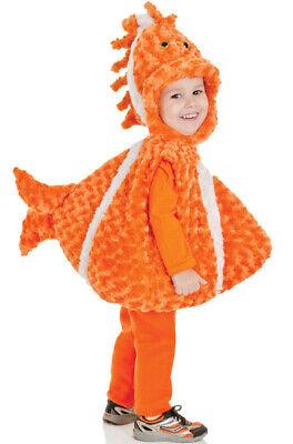 Make Fish Costume (Brand New Big Mouth Clown Fish Toddler)
