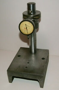"Starrett .025"" Dial Indicator on Steel Indicator Stand"