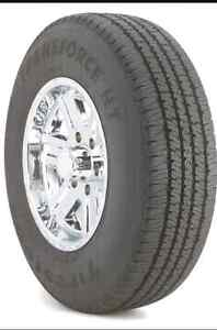 4 used - 245/70/17r Tires only $200 obo