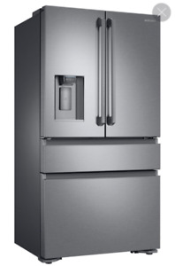 "36"" Samsung, stainless steel, counter depth refrigerator"