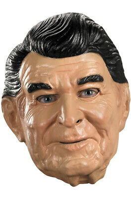 President Ronald Reagan Adult Vinyl Mask](Presidents Mask)