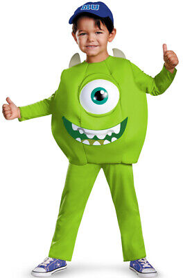 Brand New Monster's University Mike Deluxe Toddler Costume](Monster University Costumes)