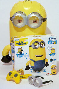 Minions Remote Control Inflatable Kevin with Sound