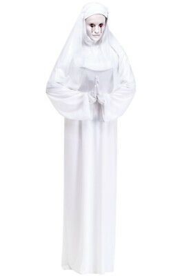 Brand New Religious Horror Scary Mary Spooky Nun Sister Adult Costume
