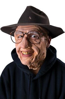 Brand New Senior Citizen Gramps Grandpa Wrinkles Prosthetic Costume Kit](Senior Citizens Halloween Costumes)