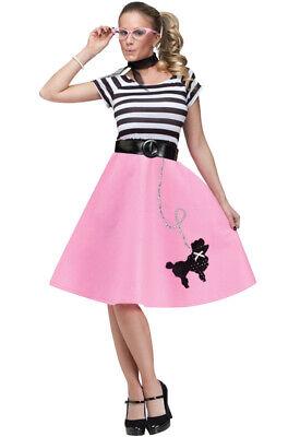 Brand New 50's Soda Shop Sweetie Adult Halloween Costume