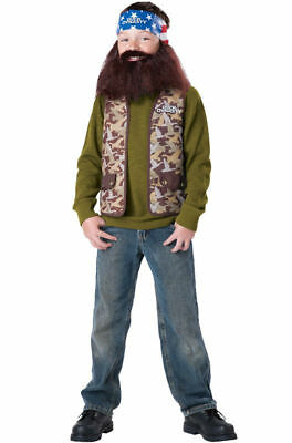 Willie Duck Dynasty Robertson Costume - Halloween Costume Child - Boys L 10-12