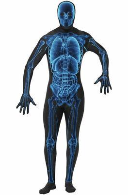 X-Ray Second Skin Adult Halloween Costume - Man Ray Halloween Costume