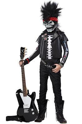 Dead Man Rockin Heavy Metal Child Costume - Dead Man Rockin