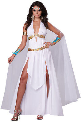 300 Spartan Glorious Goddess Queen Toga Greek Roman Adult Women Costume