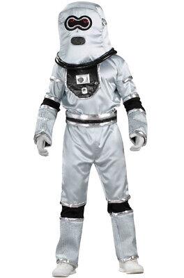 Silver Space Suit Costume (Astronaut Space Suit Robot Dress Up Child Costume -)