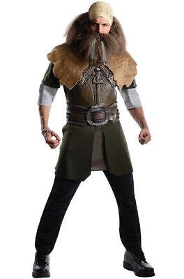 Brand New The Hobbit Deluxe Dwalin Adult Halloween Costume
