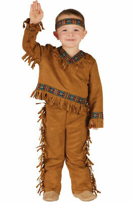 Toddler Nativity Costumes (Fun World Costumes Baby Boy's Native American Toddler Boy Costume, Tan, Small)
