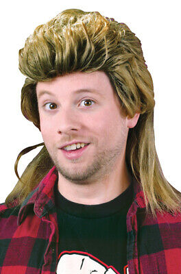Brand New 1980's Mullet Halloween Costume Wig
