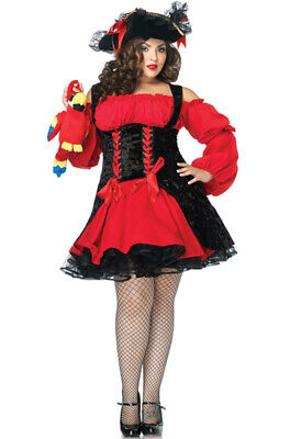 Brand New Vixen Pirate Wench Hidden Treasure Plus Size Costume](Hidden Treasure Pirate Costume)