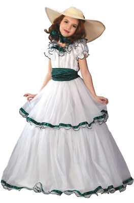 Southern Belle Costume For Girls (Southern Belle Dress Girls Child Halloween)