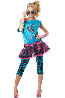 Valley Girl 80's Punk Rock Cindy Lauper Adult Costume
