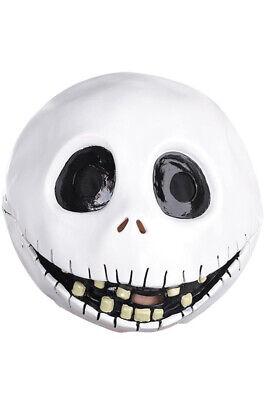 Brand New Tim Burton The Nightmare Before Christmas Jack Skellington Latex Mask](Jack Skellington Latex Mask)