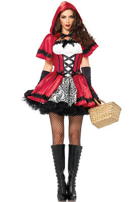 Red Riding Hood Outfit (Brand New Gothic Red Riding Hood Outfit Adult)