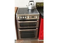 Hot point gas and electric cooker