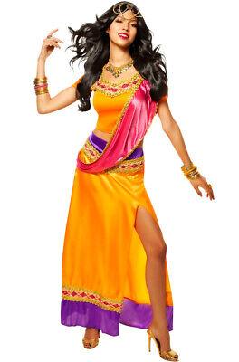 Brand New Exotic Goddess Bollywood Star Adult Halloween Costume - Star Halloween Costume