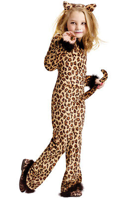 Pretty Leopard Kitty Cat Child Costume - Pretty Leopard Child Costume