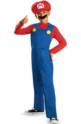 Super Mario Baby Costume (Brand New Super Mario Classic Child)