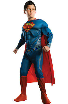 Man of Steel Deluxe Superman Child Costume