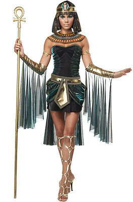 Adult Womens Egyptian Goddess Ancient Pyramid Cleopatra Halloween Costume - Costume Halloween Cleopatra