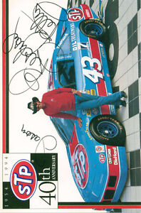 RICHARD PETTY AUTOGRAPHED SIGNED 1994 STP 40th AnniversaryNASCAR Sarnia Sarnia Area image 1