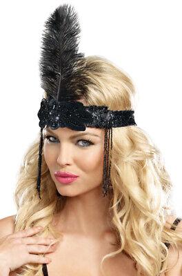 Brand New 1920s Flapper Headpiece Great Gatsby Costume Accessory](1920s Costume Headpiece)