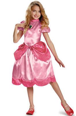 Super Mario Baby Costume (Brand New Super Mario Brothers Princess Peach Classic Child)