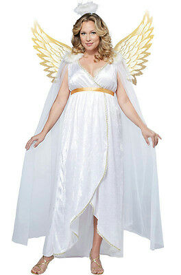 California Costumes Plus Size Guardian Angel Women's Adult Costume 3X 20-22