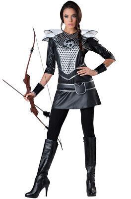 Midnight Huntress Warrior Knights Women Adult Costume - Huntress Costume