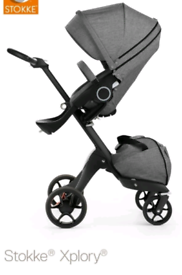STOKKE buggy black melange 2012 with all the extras you need