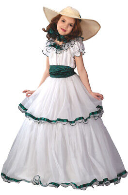 Brand New Southern Belle Dress Girls Child Costume](Southern Belle Girl Costume)