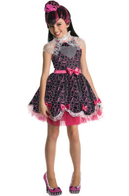 Brand New Monster High Deluxe Draculaura Sweet 1600 Child Halloween Costume - Draculaura Monster High Halloween Costume