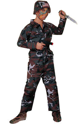 Military Army Soldier Child - Baby Soldier Costume