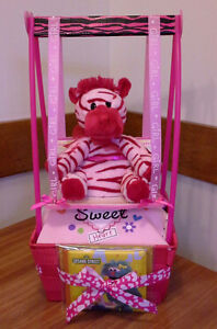 SWING AWAY BABY GIRL SHOWER GIFT