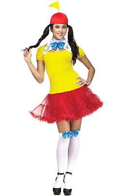 Alice in Wonderldand Storybook TWEEDLE DEE DUM Women's Costume Dress (Tweedle Dee Costumes)