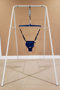 Jolly Jumper with A Frame Stand - pending pickup