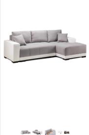 Corner sofa bed for sale . Loads of storage