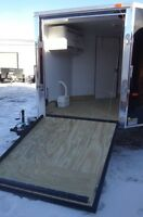 2015 Forest River Sled Trailer Enclosed Snowmobile Trailer