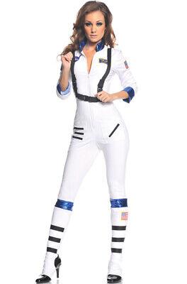 Blast Off Astronaut Halloween Costume (Brand New Blast Off Astronaut Lady Adult Halloween)