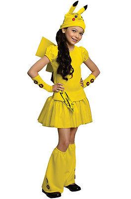 Pokemon Girl's Pikachu Child Costume, Pokemon Go Pikachu, FREE 2-3 DAY DELIVERY! - Pokemon Girl Costumes