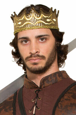 Renaissance Medieval Fantasy King Crown Costume Accessory - Costume King Crowns