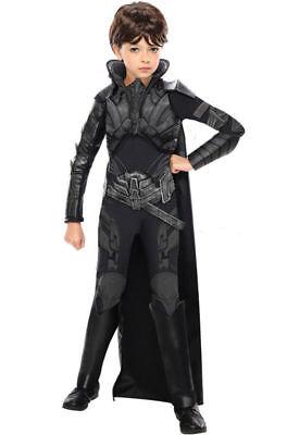 Rubie Brand New Man of Steel Deluxe Faora Child Halloween Costume L 12-14 NEW - Faora Halloween Costume